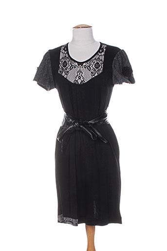double jeu robes femme de couleur noir