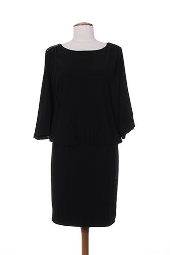 frank lyman robes femme de couleur noir