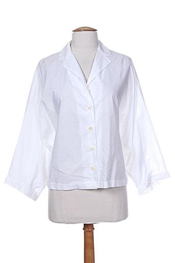 alberto biani chemises femme de couleur blanc
