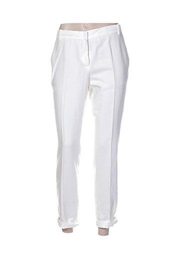 Pantalon 7/8 blanc PAUL SMITH pour femme