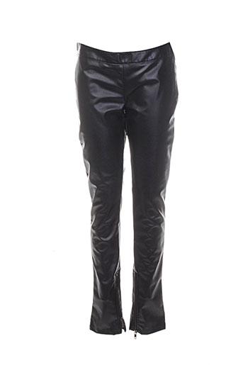 Pantalon 7/8 noir COSTUME NEMUTSO pour femme