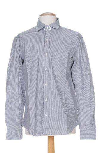 slam chemises homme de couleur gris