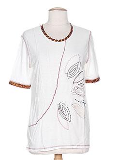 Produit-T-shirts-Femme-COULEUR D'IVOIRE