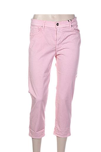 impaqt pantacourts femme de couleur rose