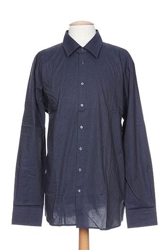 digel chemises homme de couleur bleu