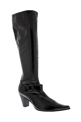 fugitive bottes femme de couleur noir