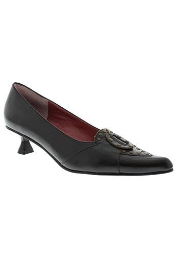 trinity chaussures femme de couleur noir