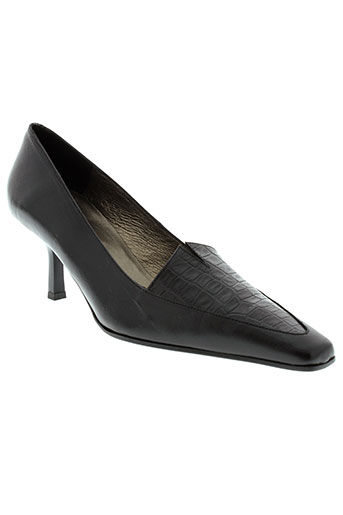 kristel chaussures femme de couleur noir