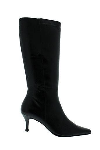 faustine bottes femme de couleur noir