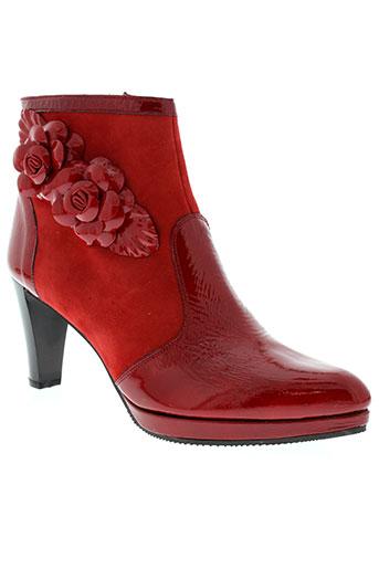 azuree chaussures femme de couleur rouge