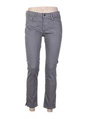 Pantalon casual gris PAUL & JOE pour femme seconde vue