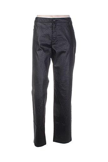 ciso pantalons femme de couleur noir