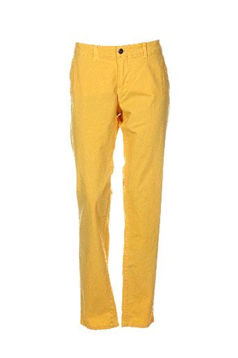 gaastra pantalons et decontractes homme de couleur jaune