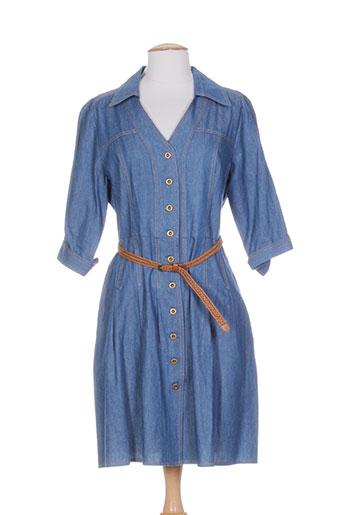 femmes je vous aime robes femme de couleur bleu