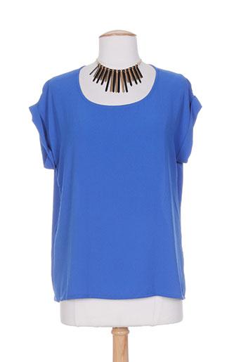 miss miss chemises femme de couleur bleu