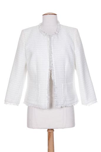 queenie vestes femme de couleur blanc