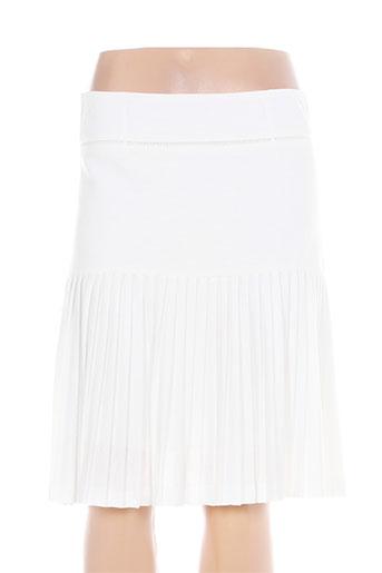 femmes je vous aime jupes femme de couleur blanc