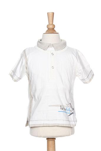 T-shirt manches courtes beige LA TRIBBU pour garçon