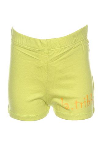Short vert LA TRIBBU pour fille