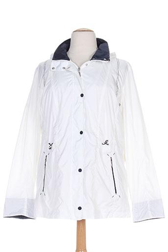 concept k manteaux femme de couleur blanc