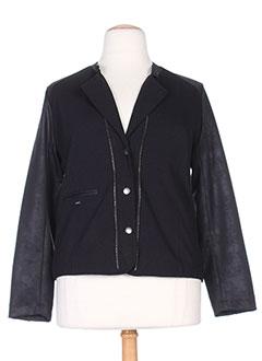 Veste casual noir FELINO pour femme