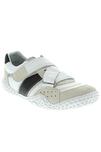 mod8 chaussures garçon de couleur blanc