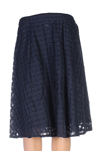 anna studio jupes femme de couleur bleu