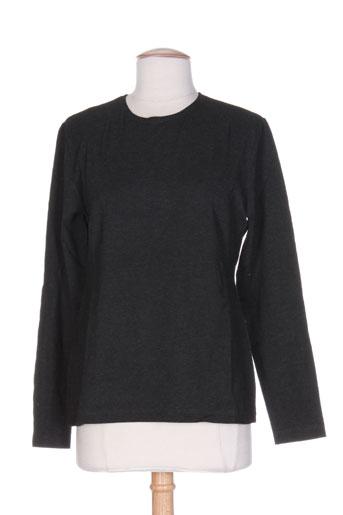 T-shirt manches longues gris OLIVIER STRELLI pour femme