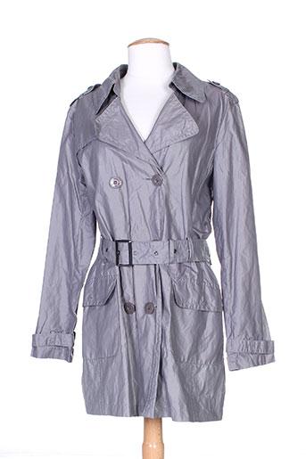 buretti manteaux femme de couleur gris