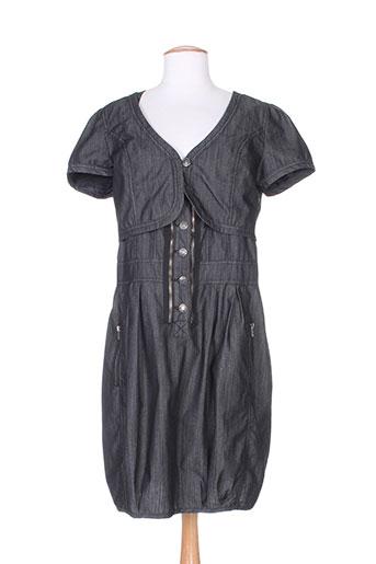 jensen robes femme de couleur gris