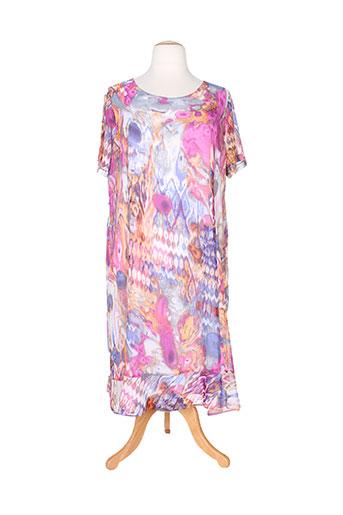 paloma robes femme de couleur violet
