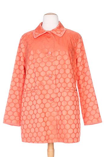 Veste casual orange BURETTI pour femme