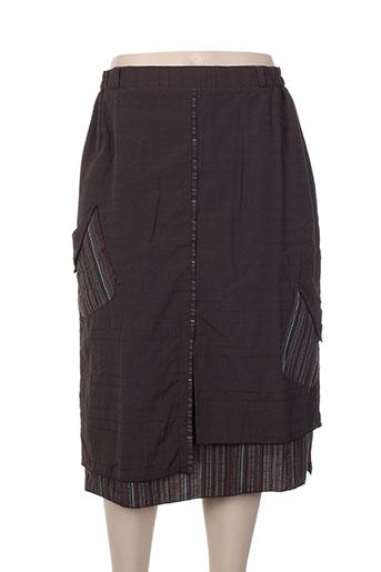 maryvet jupes femme de couleur marron