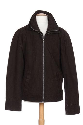 oakwood manteaux homme de couleur marron