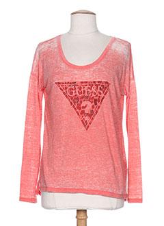 Produit-T-shirts / Tops-Femme-GUESS