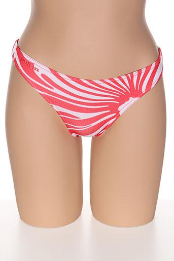 pull in maillots de bain femme de couleur rouge