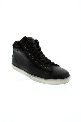 calderoni baskets homme de couleur noir