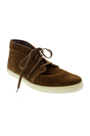 victoria boots homme de couleur marron