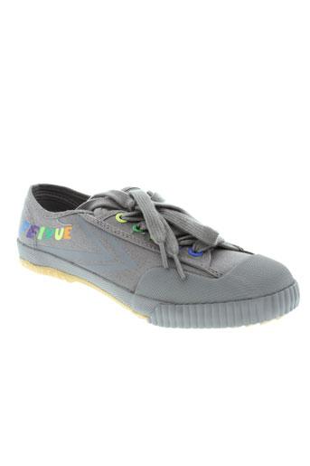 feiyue chaussures homme de couleur gris