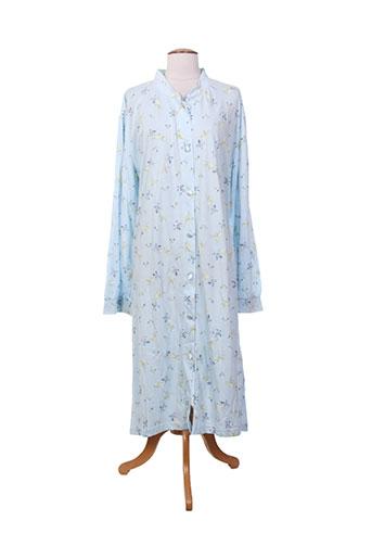 eliane chemises et de et nuit femme de couleur bleu