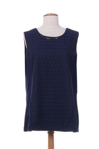 evanna chemises femme de couleur bleu