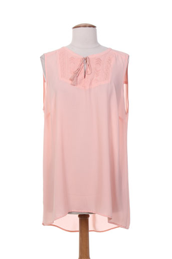 open end chemises femme de couleur rose