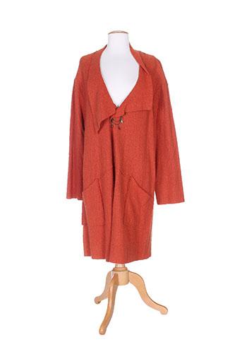 piment rouge vestes femme de couleur orange
