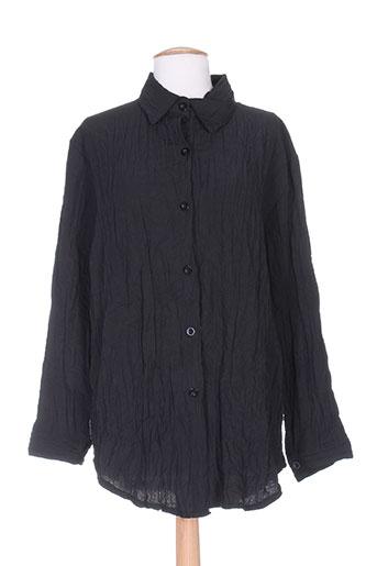 vetistyle chemises femme de couleur noir