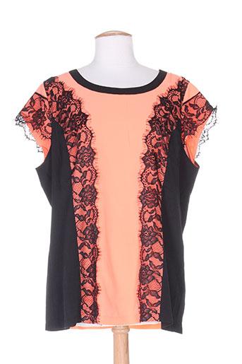 evanna chemises femme de couleur orange