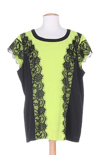 evanna chemises femme de couleur vert