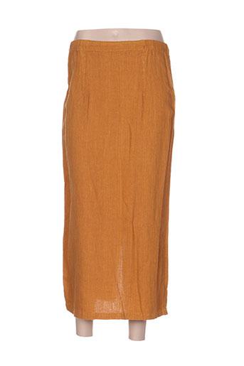 heteroclite jupes femme de couleur marron
