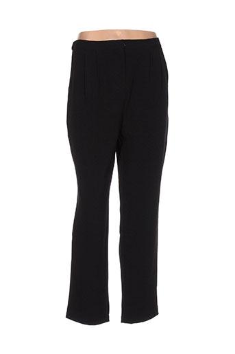 evanna pantalons femme de couleur noir