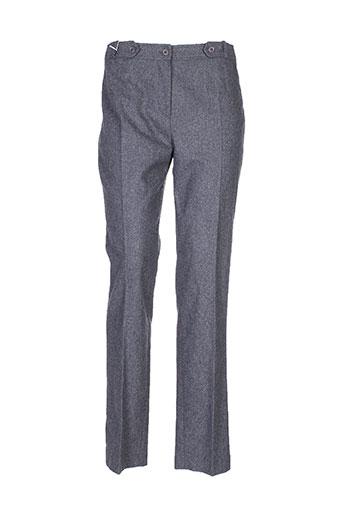 garou paris pantalons femme de couleur gris