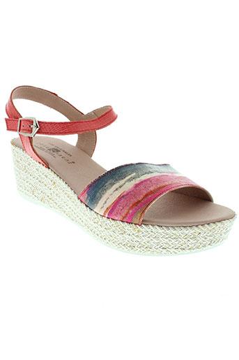 jose et saenz sandales et nu et pieds femme de couleur rose